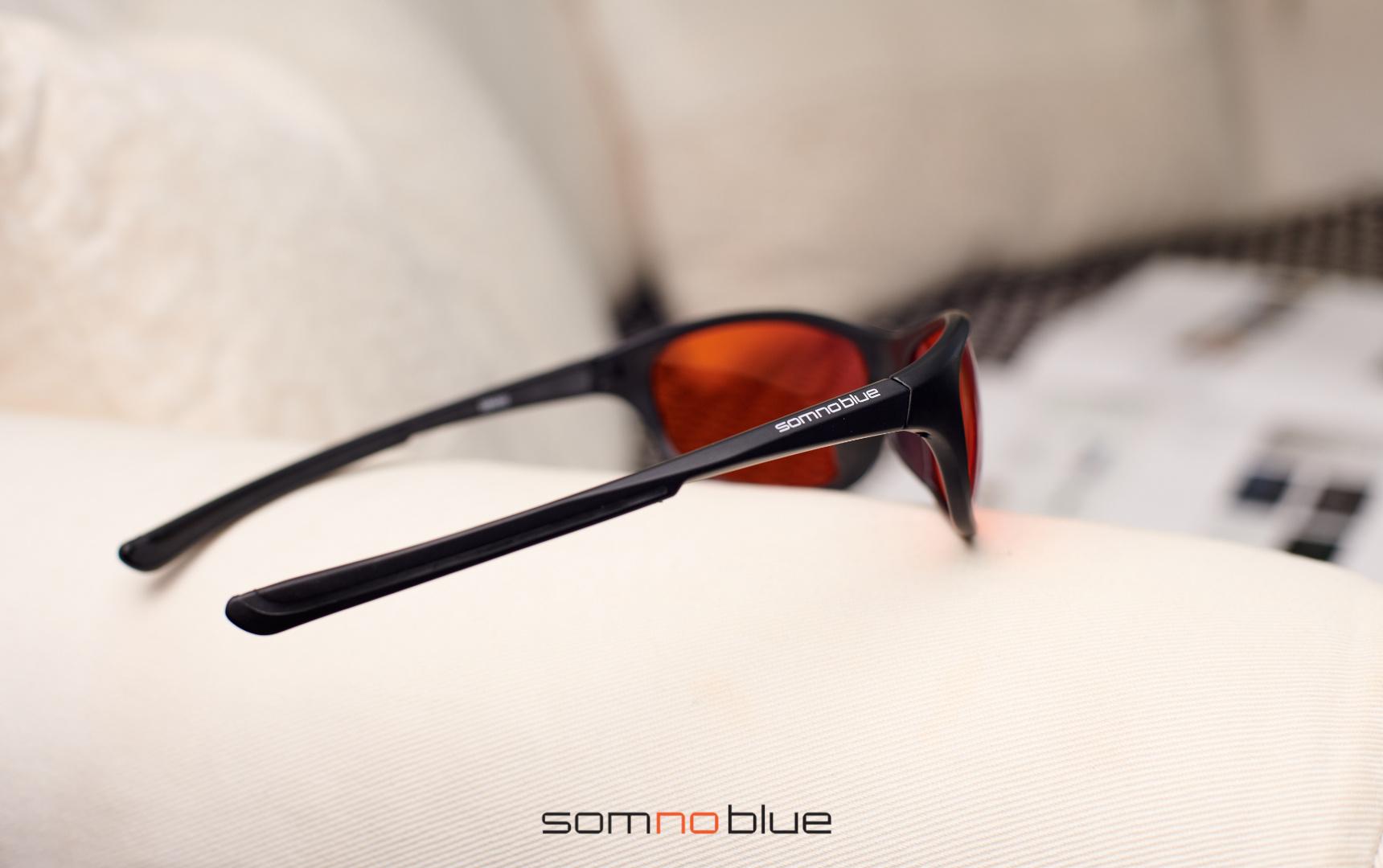 Blauw licht filter bril Slaapbril SB-3 met hardcase