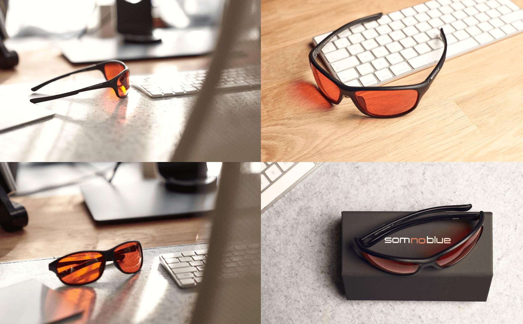 Somnoblue blue light blocking sleep glasses SB-3 PLus - Copy