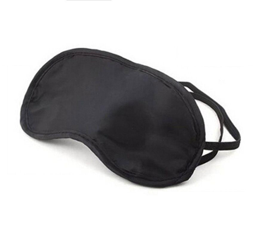 Schlafmaske schwarz