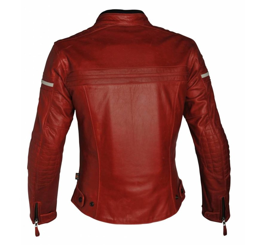 Daytona motorjas rood