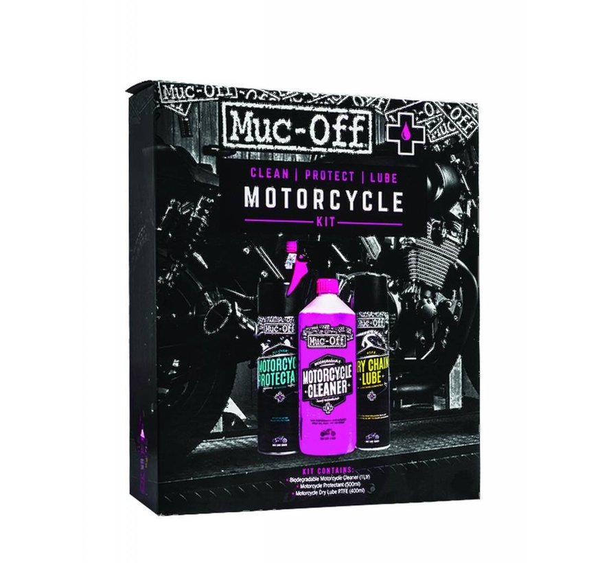 Muc-Off Clean, protect, lube