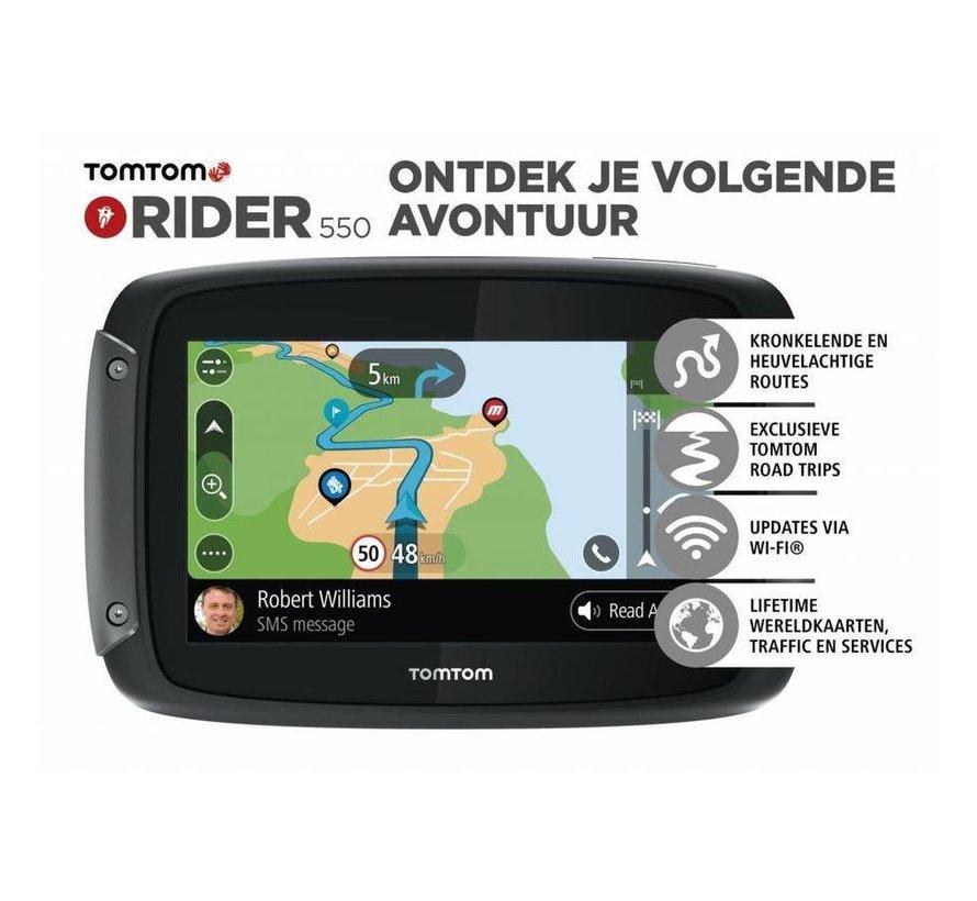 Rider 550 World wide