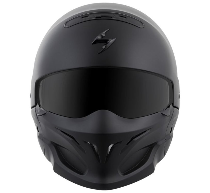 Scorpion EXO-Combat mat zwart