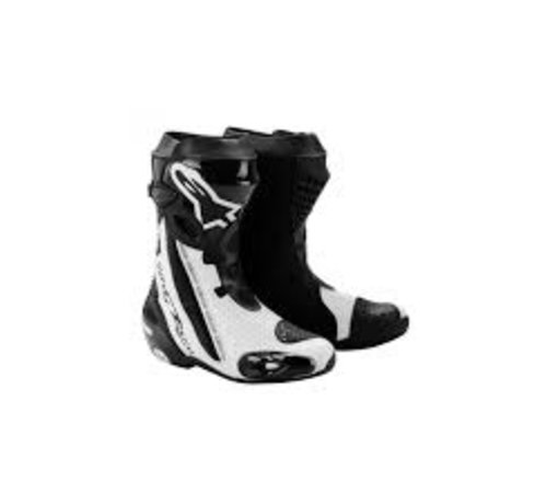 Alpinestars Supertech R Black White