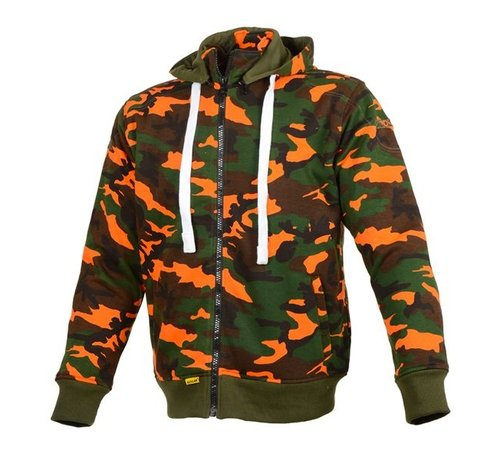 Booster Booster Core Hoodie Orange Camo