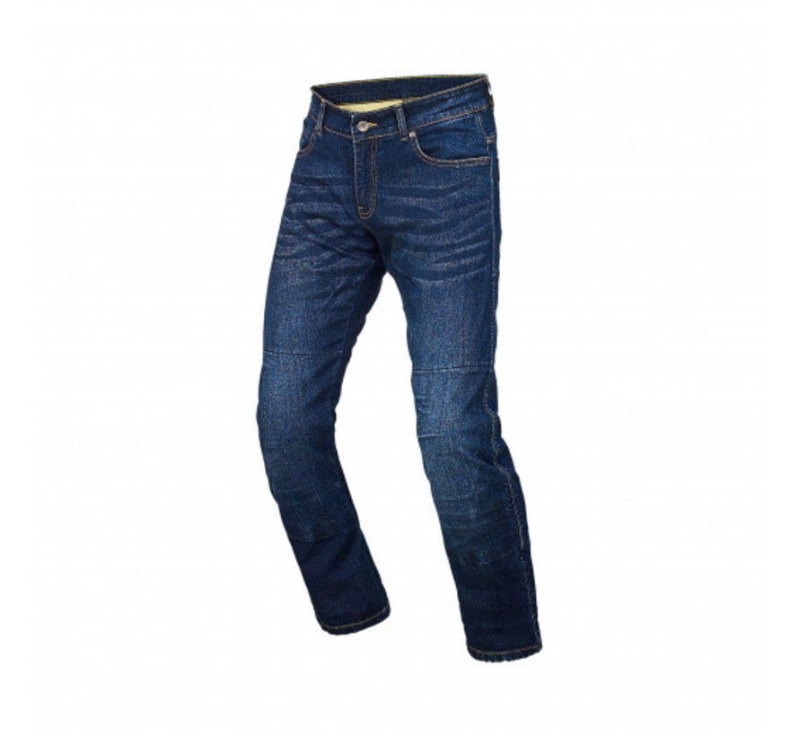 Squad motorjeans donkerblauw