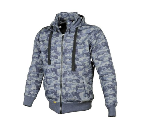 Booster Booster Core Hoodie Blauw Camo