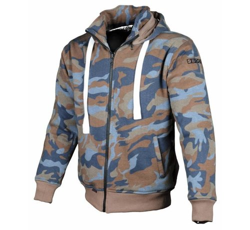 Booster Booster Core Hoodie Blauw/Bruin Camo