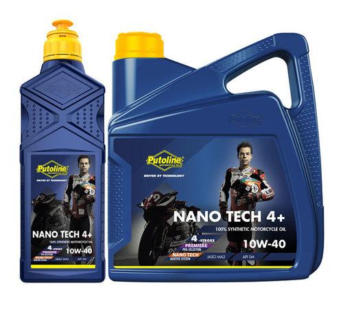 Putoline Nano tech 4+ 10w-40 motorolie