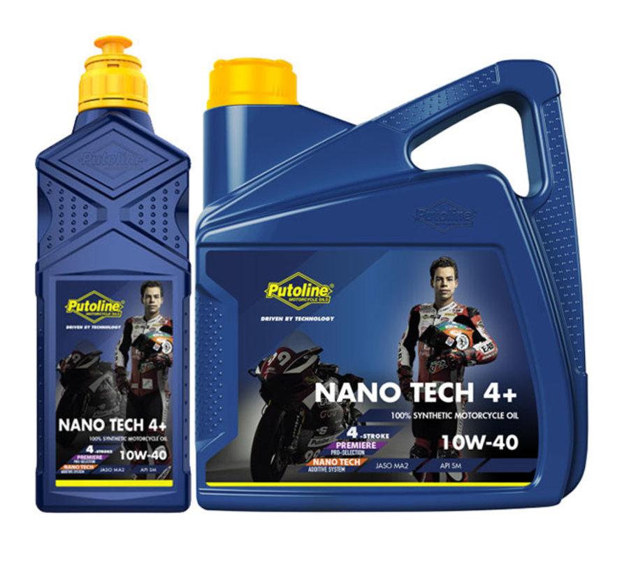 Nano tech 4+ 10w-40 motorolie