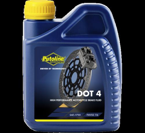 Putoline DOT 4 remvloeistof 500mL