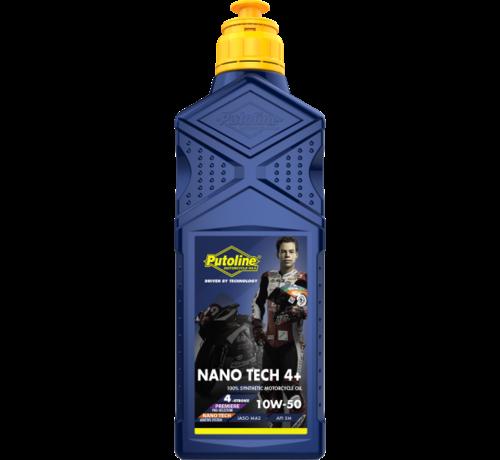 Putoline Nano Tech 4+ 10W50 1L motorolie