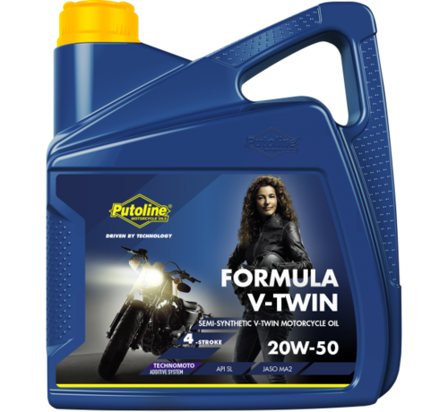 Putoline Formula V-Twin 20W-50 4L