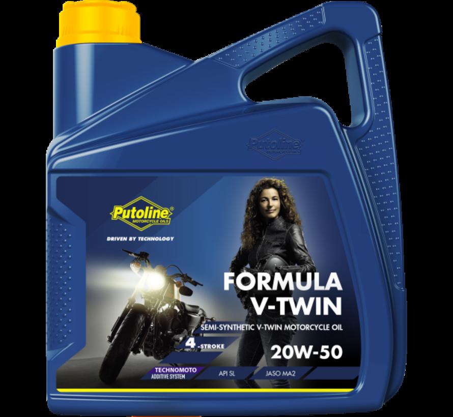 Formula V-Twin 20W-50 4L