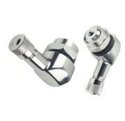 Booster Booster ventielverlengstuk 11,3mm zilver