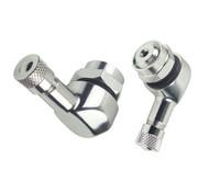 Booster ventielverlengstuk 11,3mm zilver