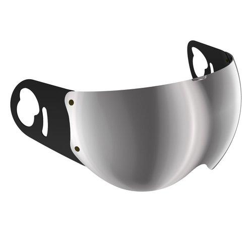 Roof Boxer V8 spiegel vizier zilver