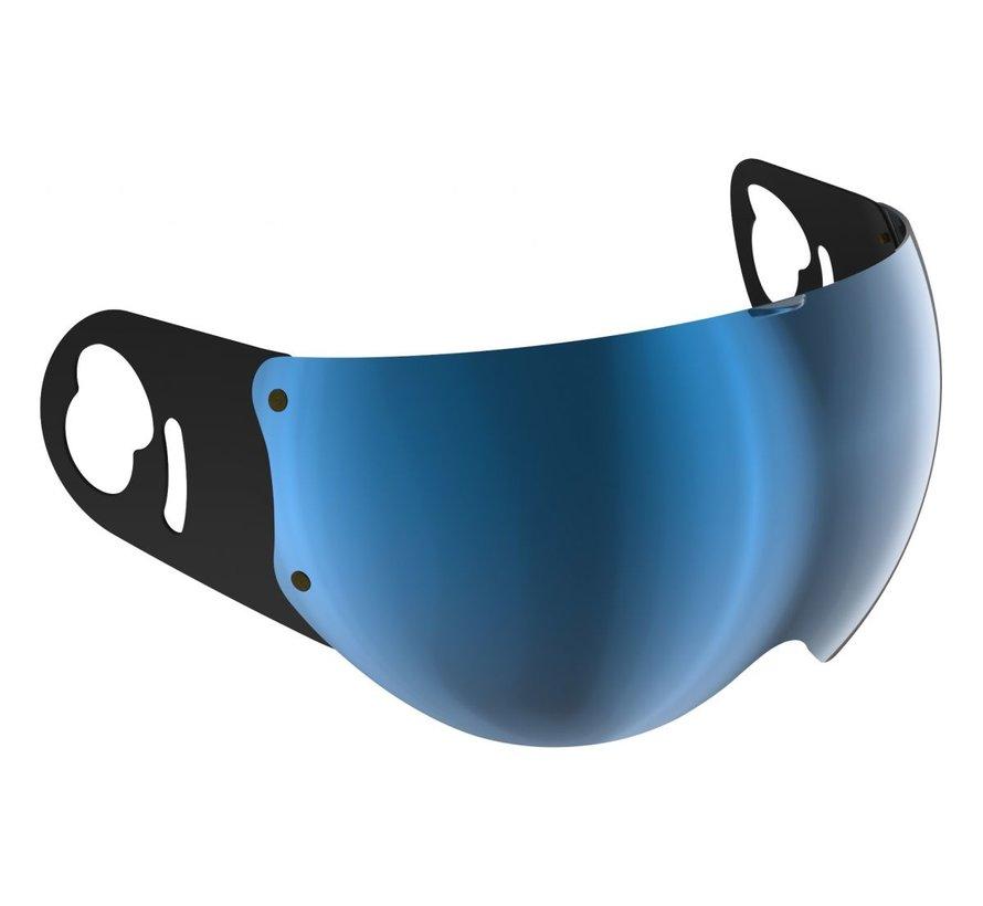 Boxer V8 spiegel vizier blauw