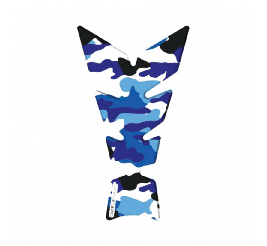Booster tankpad exclusive camo blue