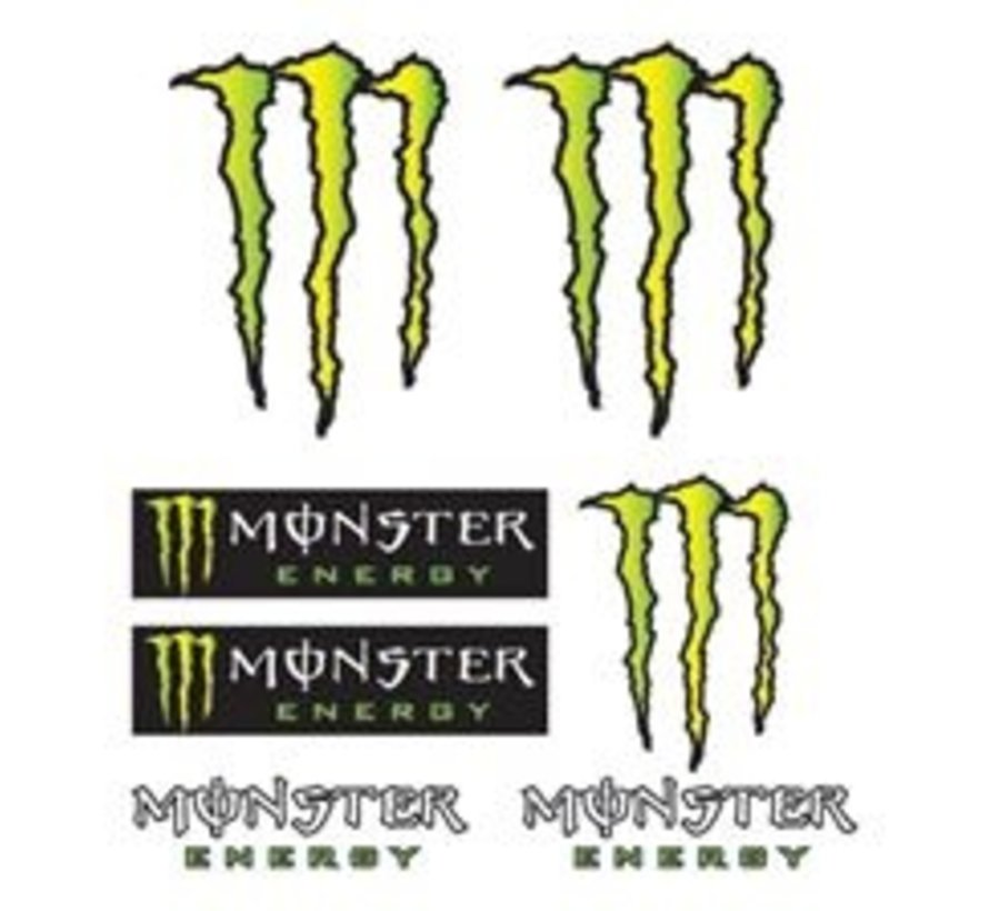 stickerset Monster Energy