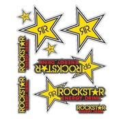 Booster Booster stickerset Rockstar