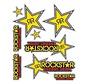 Booster stickerset Rockstar 20x24cm