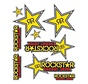 stickerset Rockstar 20x24cm