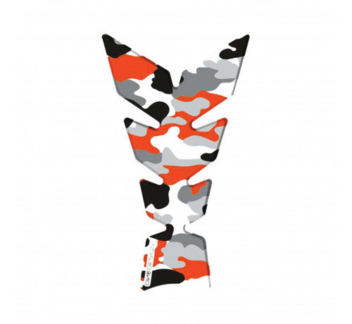Booster tankpad exclusive camo fluo orange