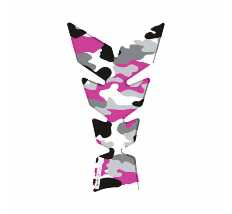 tankpad exclusive camo fluo pink