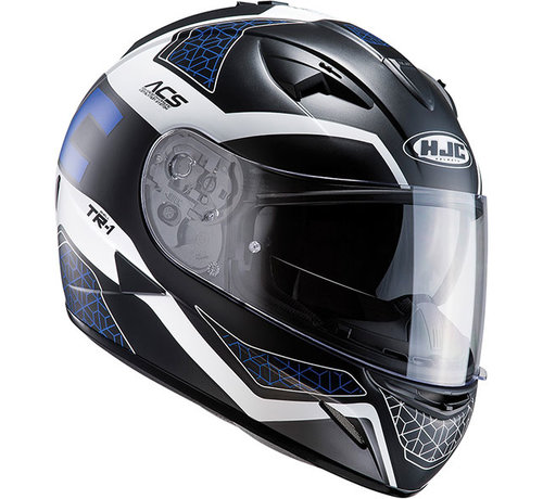 HJC Helmets TR-1 Tholos Black/Blue/White integraalhelm