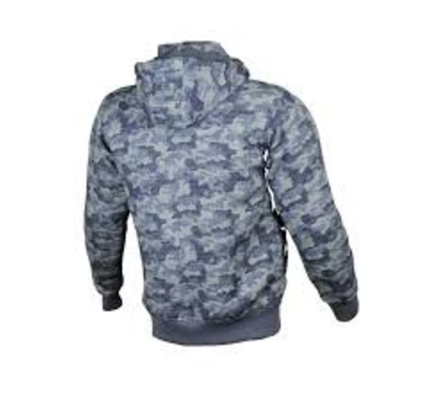 Core Hoodie Blauw Camo