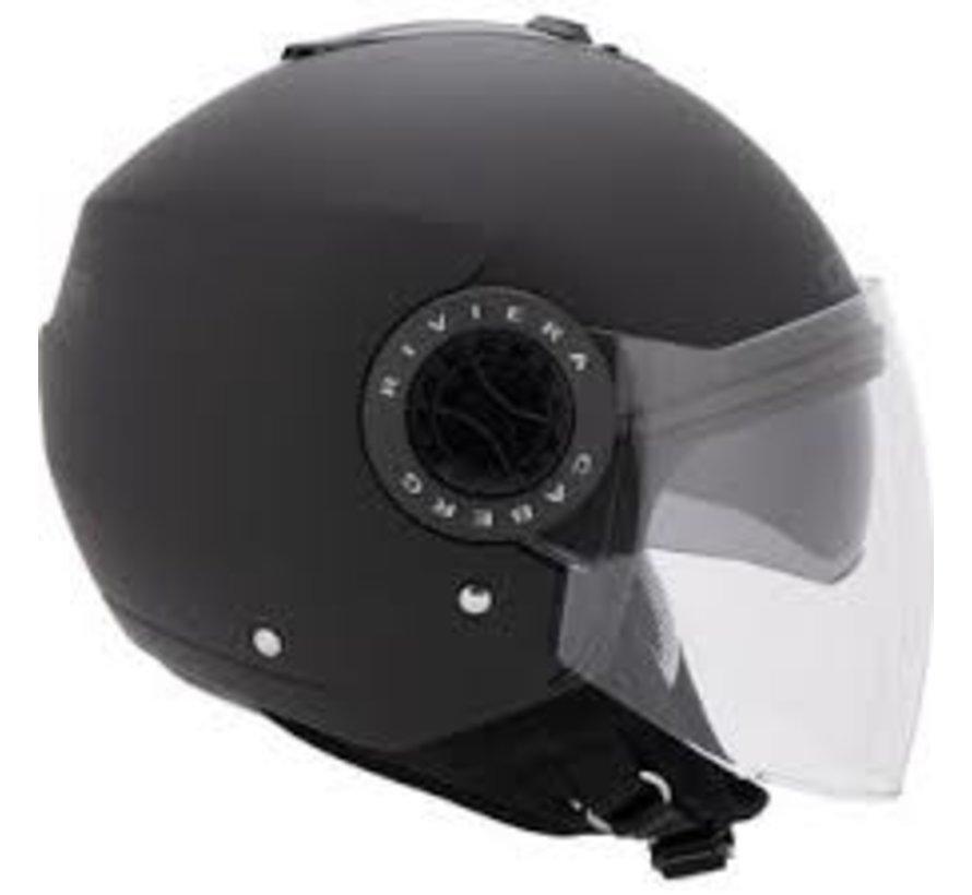 Riviera V3 Jet helm motorhelmen