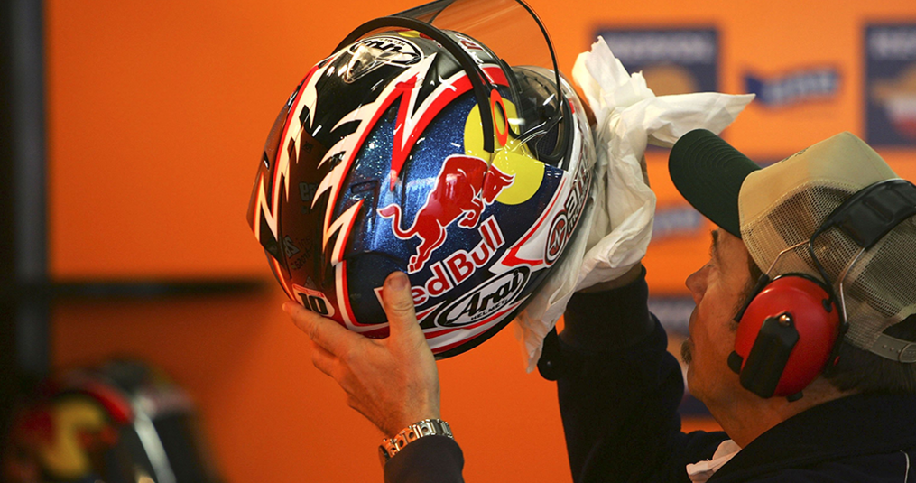 Het schoonmaken van je helm