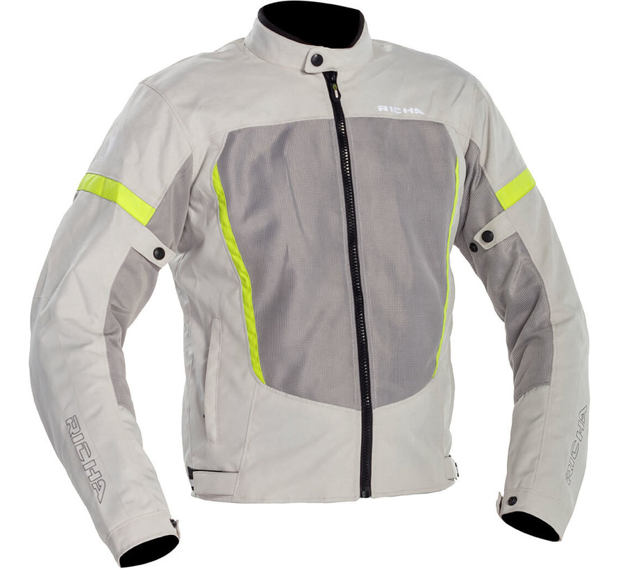 Airbender Jacket Grey/fluo Yellow