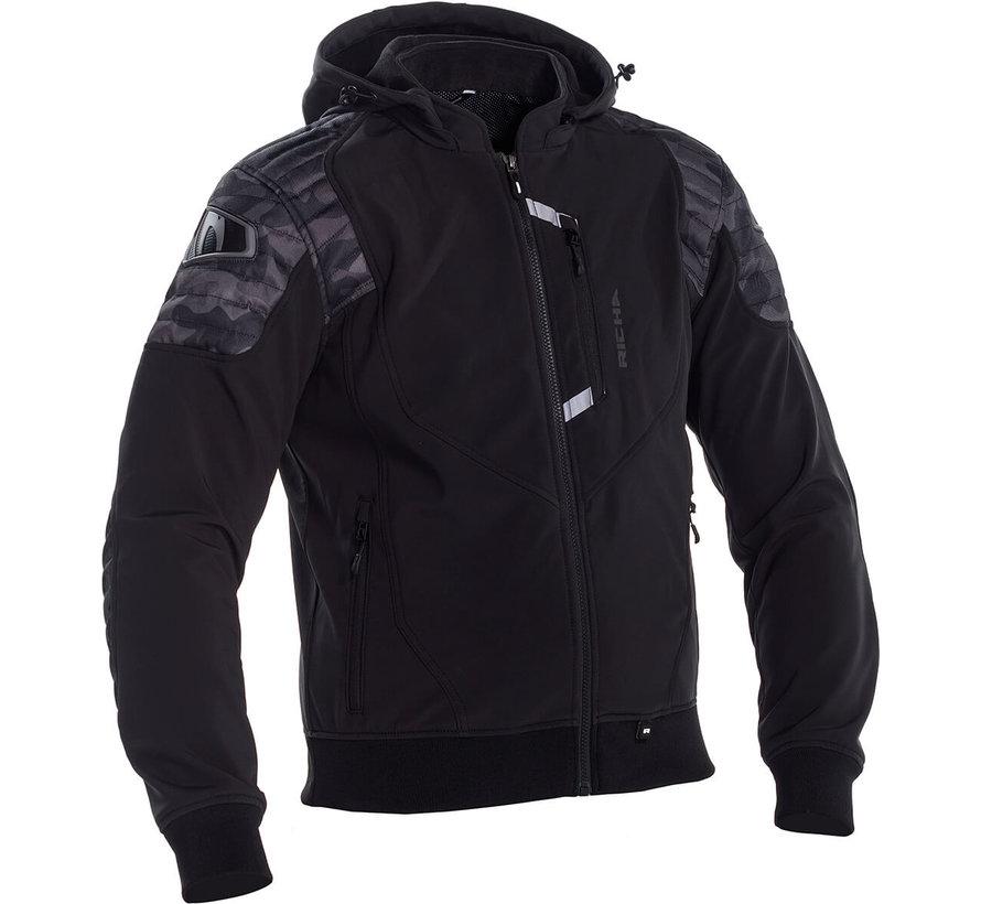 Atomic Jacket WP Camo Black