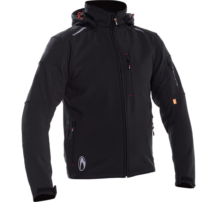 Vanquish Jacket Black