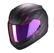 Scorpion EXO-390 BEAT Matt Black-Pink