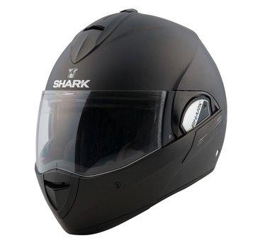 Shark Evoline 3 Blank Matte Black