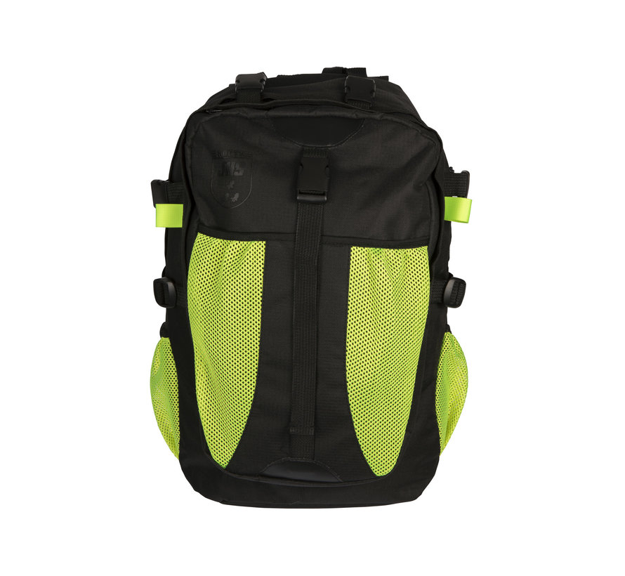 JHS Route Backpack black/yellow