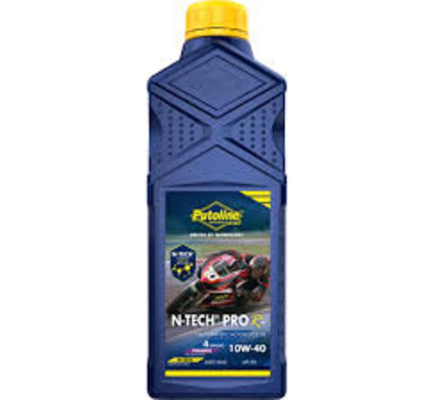 Putoline N-Tech PRO R + 10W-40 1L - 100% Synthetic, Jaso Ma2