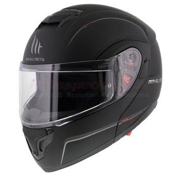 MT-Helmets Atom SV Systeem Mat Zwart