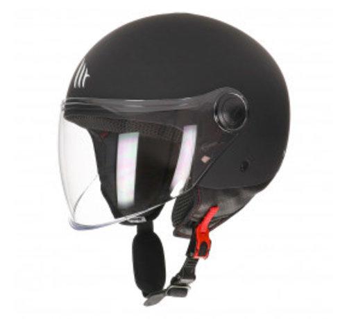 MT-Helmets Street Mat Zwart
