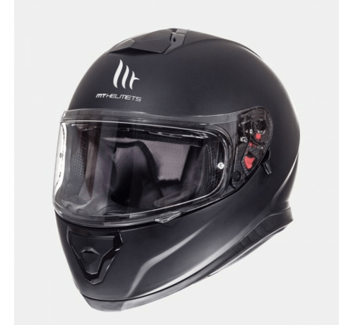 MT-Helmets Thunder III SV Solid Mat Zwart