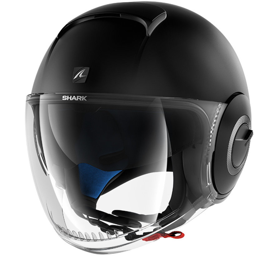 Nano Blank Helm Mat Zwart