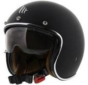 MT-Helmets Le Mans II SV Mat Zwart