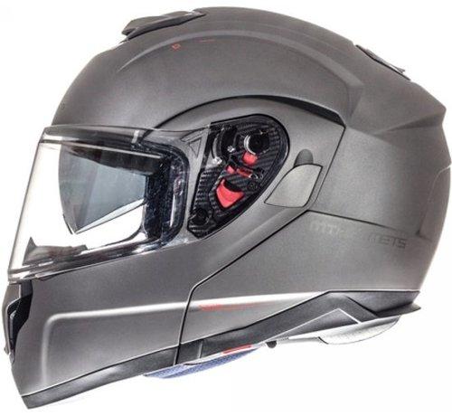 MT-Helmets Atom SV Systeem Mat Titanium
