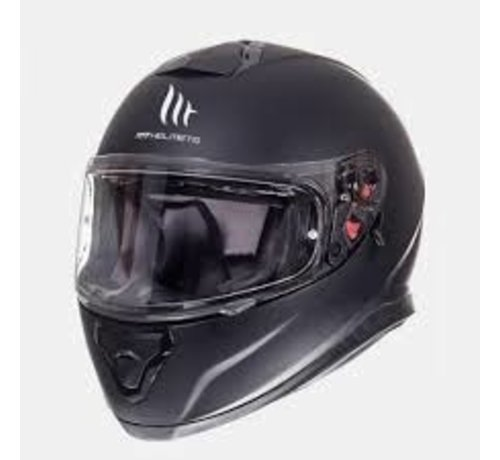 MT-Helmets Helm Thunder III SV Solid Mat Zwart