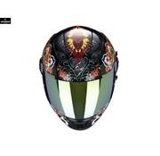 Scorpion EXO-490 Zwart Rood Blauw Chameleon