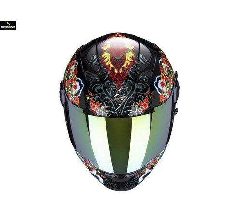 Scorpion EXO-490 Divina Zwart Rood Blauw Chameleon integraalhelm
