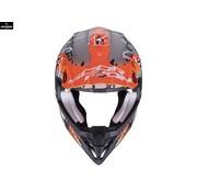 Scorpion VX-16 Grau Matt Oranje
